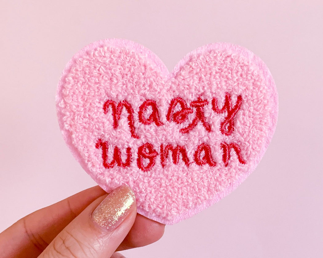 """Nasty Woman"" Chenille Patch"