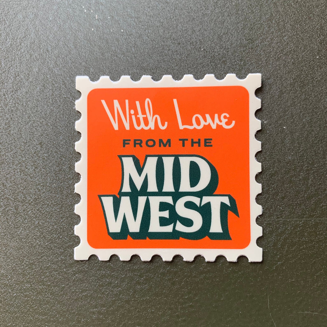 Midwest Stamp Sticker