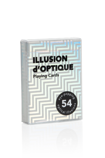 """Illusion d'Optique"" Playing Cards"