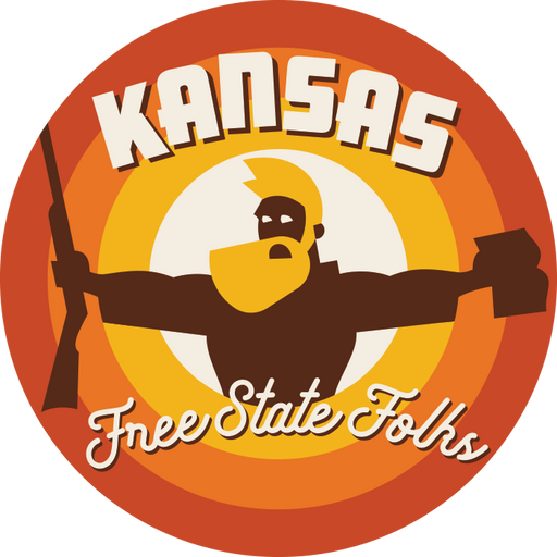 """Free State Folks"" Sticker"