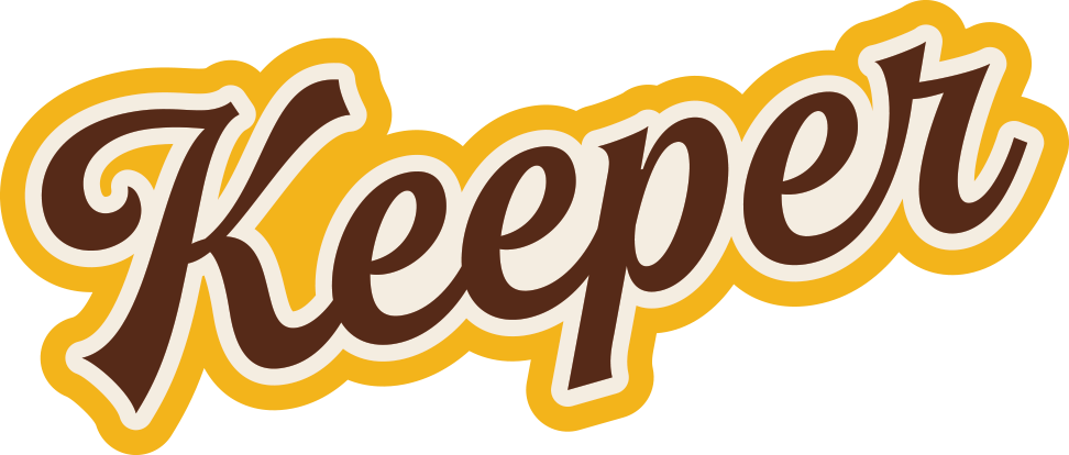 """Keeper"" Sticker"