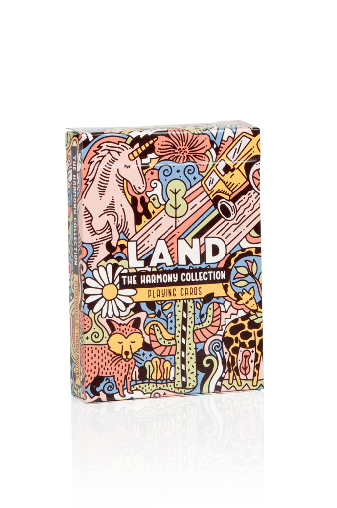 """Land"" Harmony Collection Playing Cards"