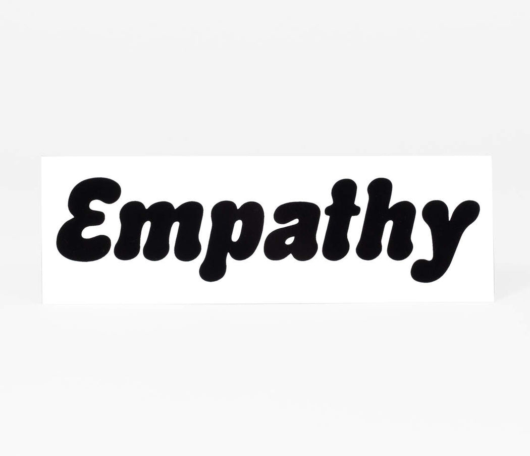 """Empathy"" Sticker"
