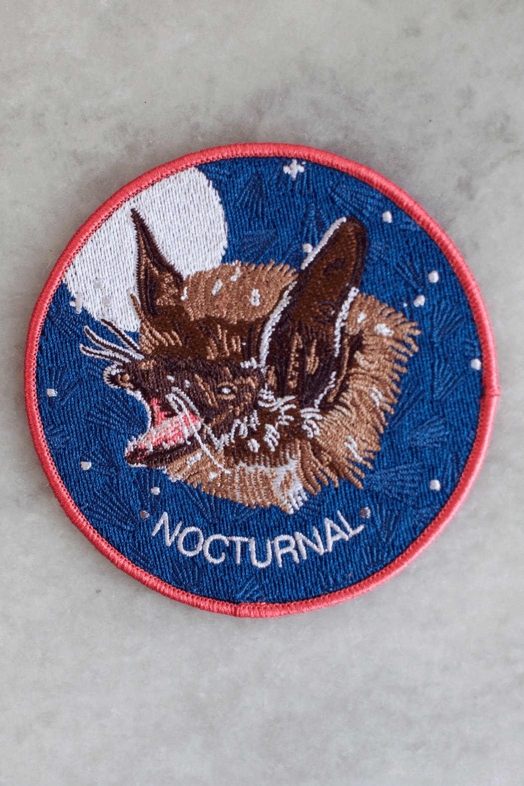 Nocturnal Iron-On Patch