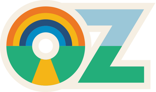 """OZ"" Sticker"