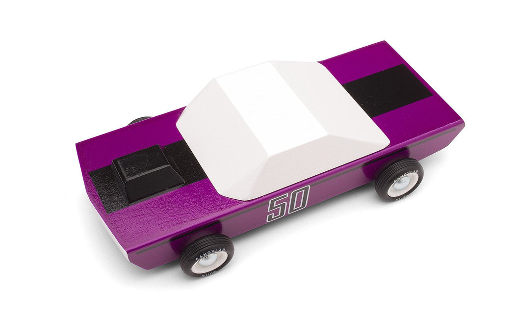 Wooden Toy Car - Plum 50