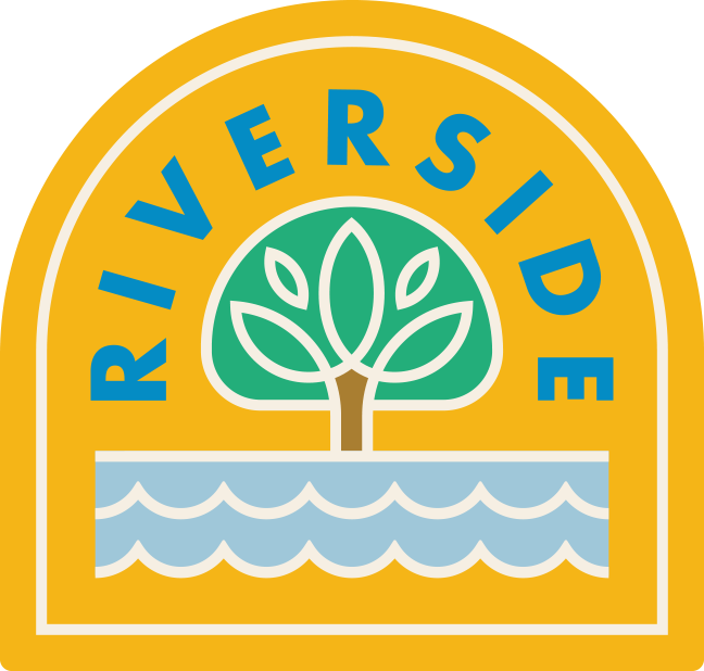 """Riverside"" Sticker"