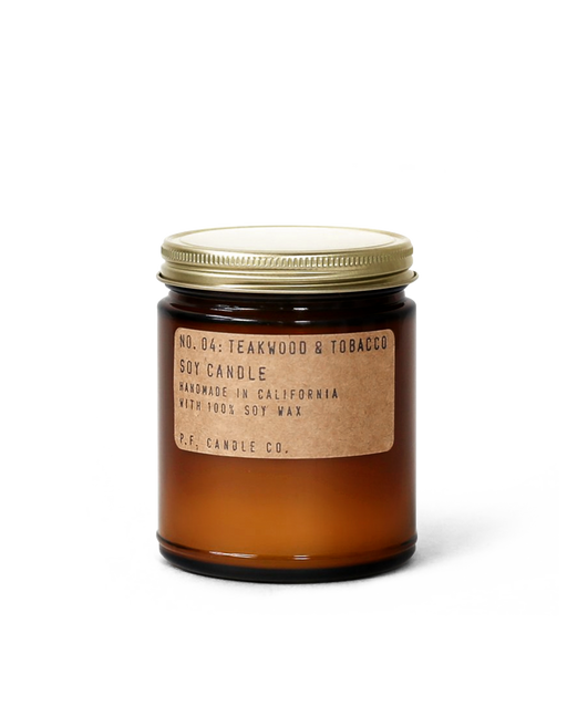 Teakwood & Tobacco - 7.2 oz Soy Candle