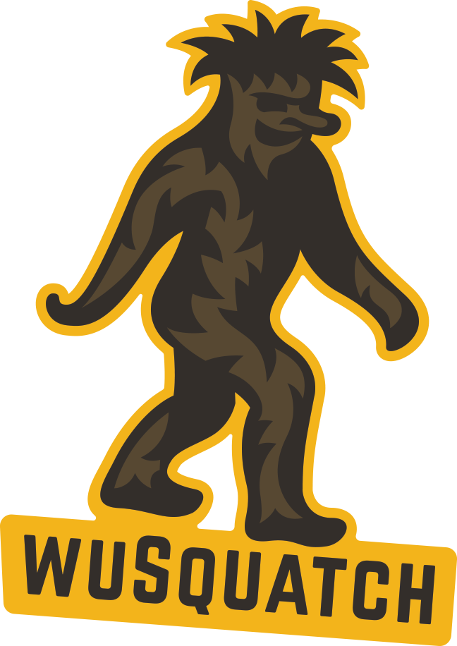 """WuSquatch"" Sticker"