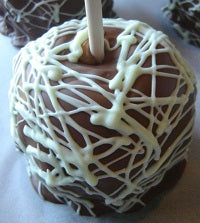 Chocolate Covered Caramel Apple Favor Gift