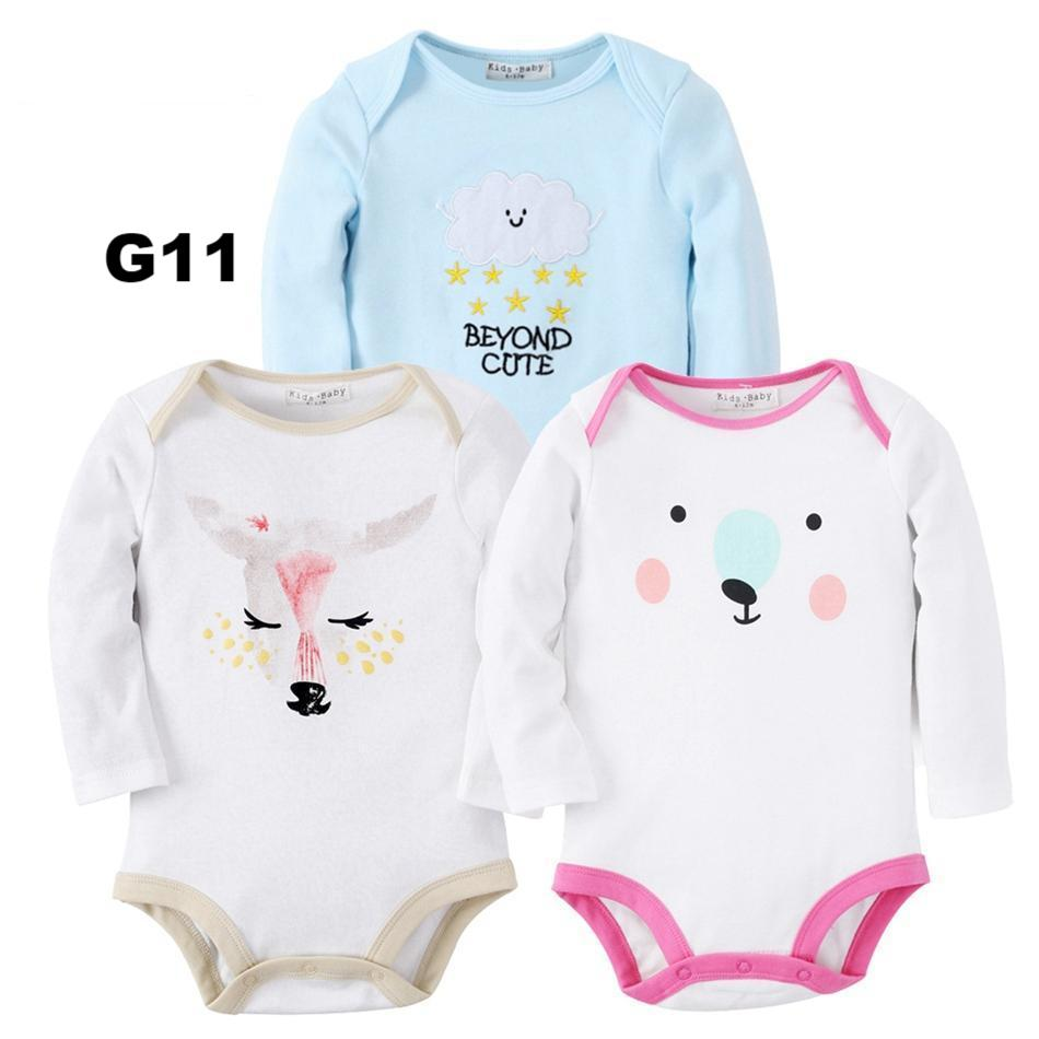 2d462a621 Cartoon Jumpsuit Long Sleeve 3pack – Baby DariUs