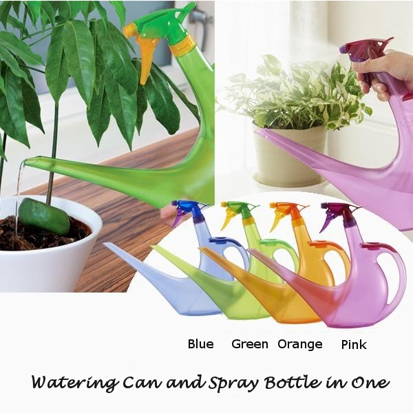 Plant Watering Can and Spray Bottle in one