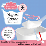 Bendable Yogurt Spoon Large