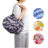 New! Easy Folding Eco Bags - Japan inspired patterns