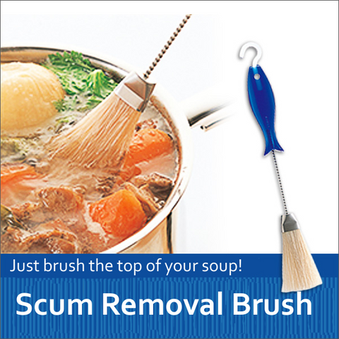 Scum Removal Brush