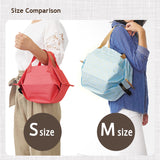 Easy Foldable Cooler Bag Medium - Size Comparison