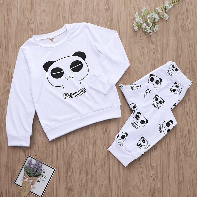Goodnight panda pajama set