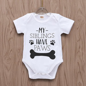 My siblings have paws letters print