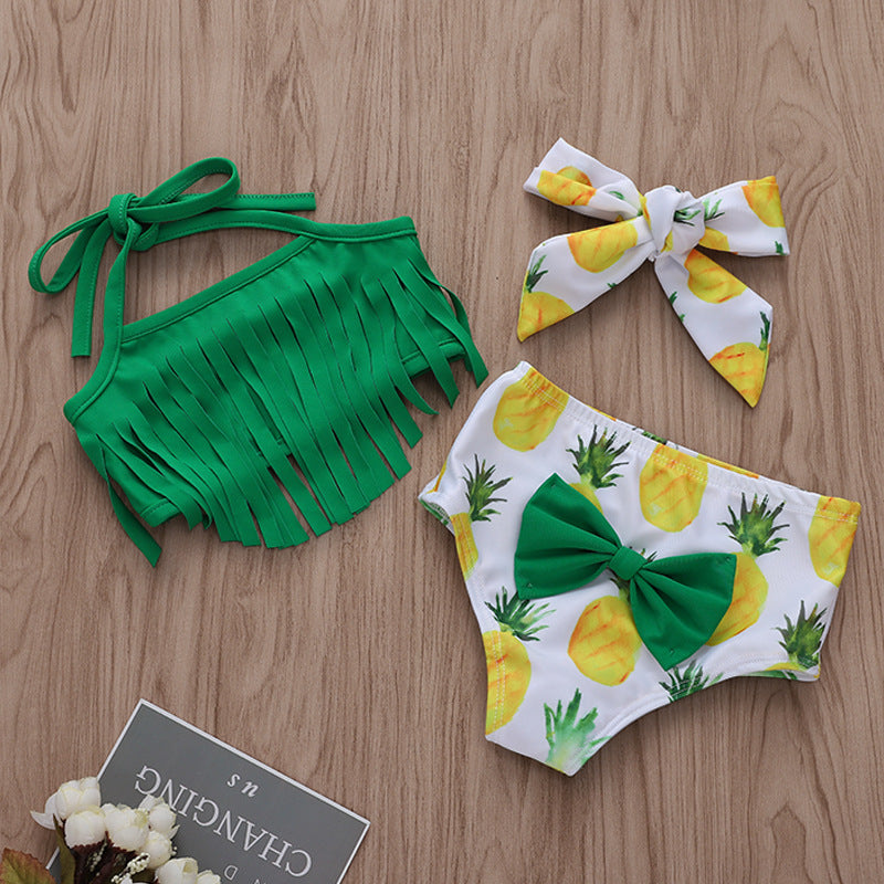 Pineapple sling swimsuit suit