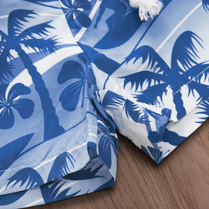 Hawaiian style beach print beach pants