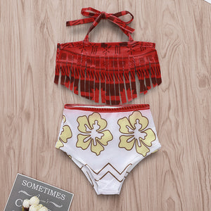 Tassel swimsuit set