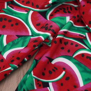 Red watermelon print set