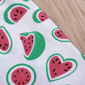 Small watermelon print dress