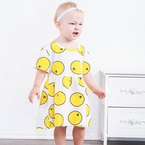 Summer fresh lemon full dress