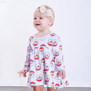 Santa Claus Cartoon Dress