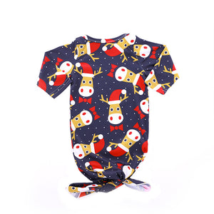 Christmas moose cute night gown