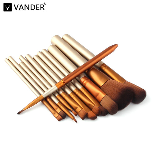Vander Professional 12Pc Make Up Brush Set.