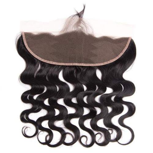 Beyo Hair Ear To Ear Lace Frontal With Baby Hair Pre Plucked Peruvian Body Wave Closure 13x4 Non-Remy Human Hair Free Shipping
