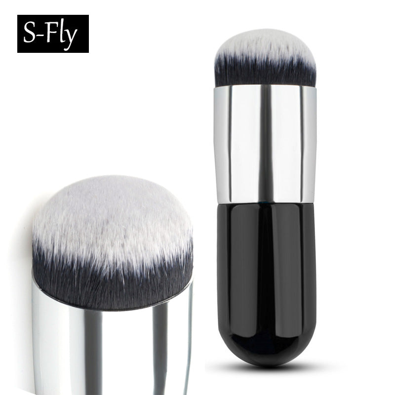 Big Round Makeup Brush, BB Cream Concealer, Nylon Fiber Make Up Beauty Tool.