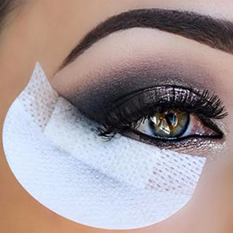 100 Pc Eyeliner Shield for Eye Shadow and Makeup Application.