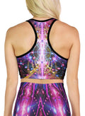 Karuna | Crop | Top | Racerback | Yoga | Gym | Workout | Rave | Festival | Outfit | Clothing | Aesthetic | Sports | Bra