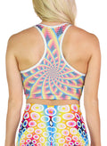 Spirabulle | Crop | Top | Racerback | Yoga | Gym | Workout | Rave | Festival | Outfit | Clothing | Aesthetic | Sports | Bra