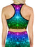 Maya | Crop | Top | Racerback | Yoga | Gym | Workout | Rave | Festival | Outfit | Clothing | Aesthetic | Sports | Bra