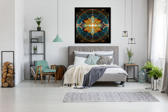 sacred geometry tapestry-4