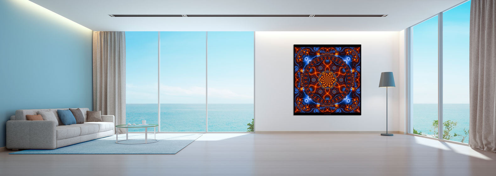 DNA Mandala Tapestry