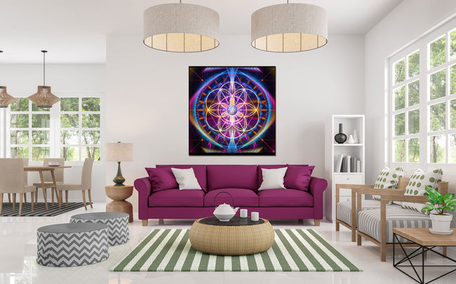 Sacred Geometry Tapestry