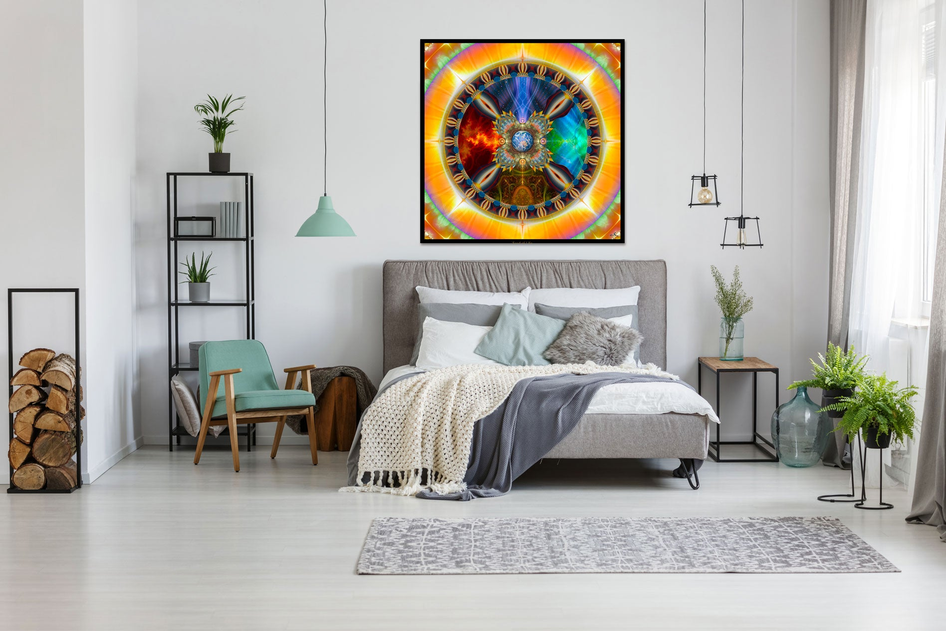 Gaia Wall Hanging Tapestry