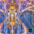 Cactiverse Cosmic Art Print | Canvas | Psychedelic| | | Earth | Visionary | Psy | Art