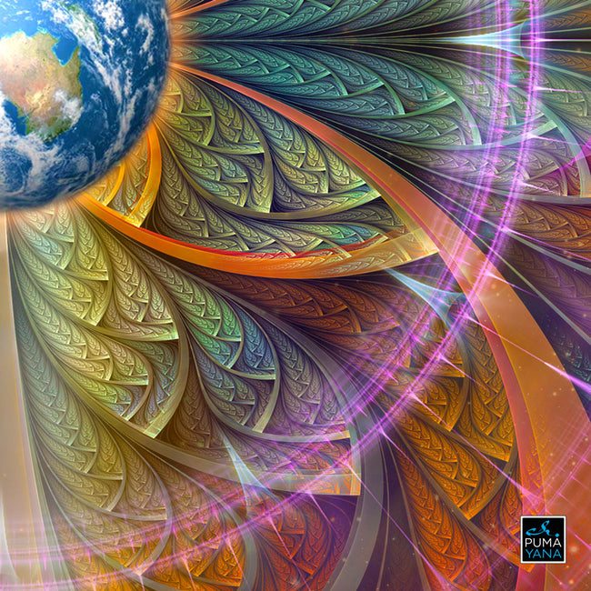 Gaiahuasca Art Print | Canvas | Psychedelic| | | Earth | Visionary | Psy | Art