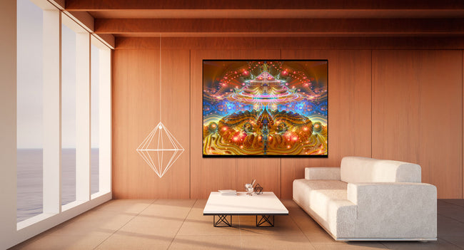 Trippy Cosmic Wall Decor