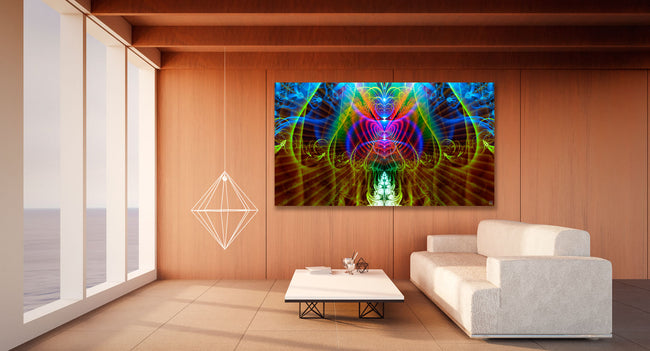 Halls of Amentis Tapestry | Wall Hanging | Cosmic| Meditation | Spiritual | Visionary | Healing | Conscious | Art