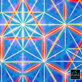 One Light Tapestry | Wall Hanging | Cosmic| Meditation | Spiritual | Visionary | Sacred Geometry| Conscious | Art