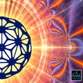 Flower of Life Tapestry