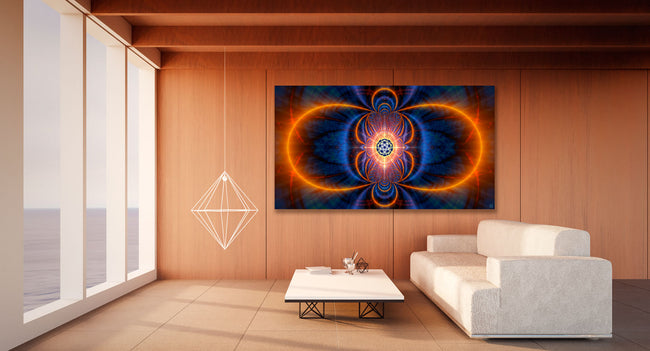 Sacred Geometry Wall Hanging