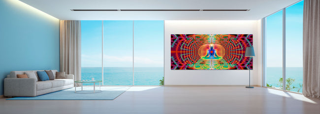 Noces HyperSpace | Art | Tapestry | Wall Hanging | Mindfulness Gift | Meditation | Yoga | Spiritual | Healing