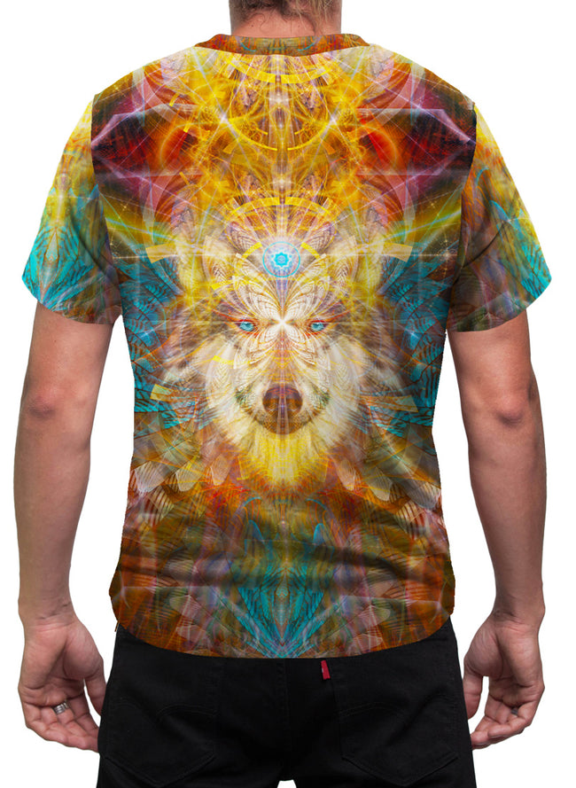 Wolf Mens T-Shirt | Animal Totem | Sacred Masculine | BeauWolf